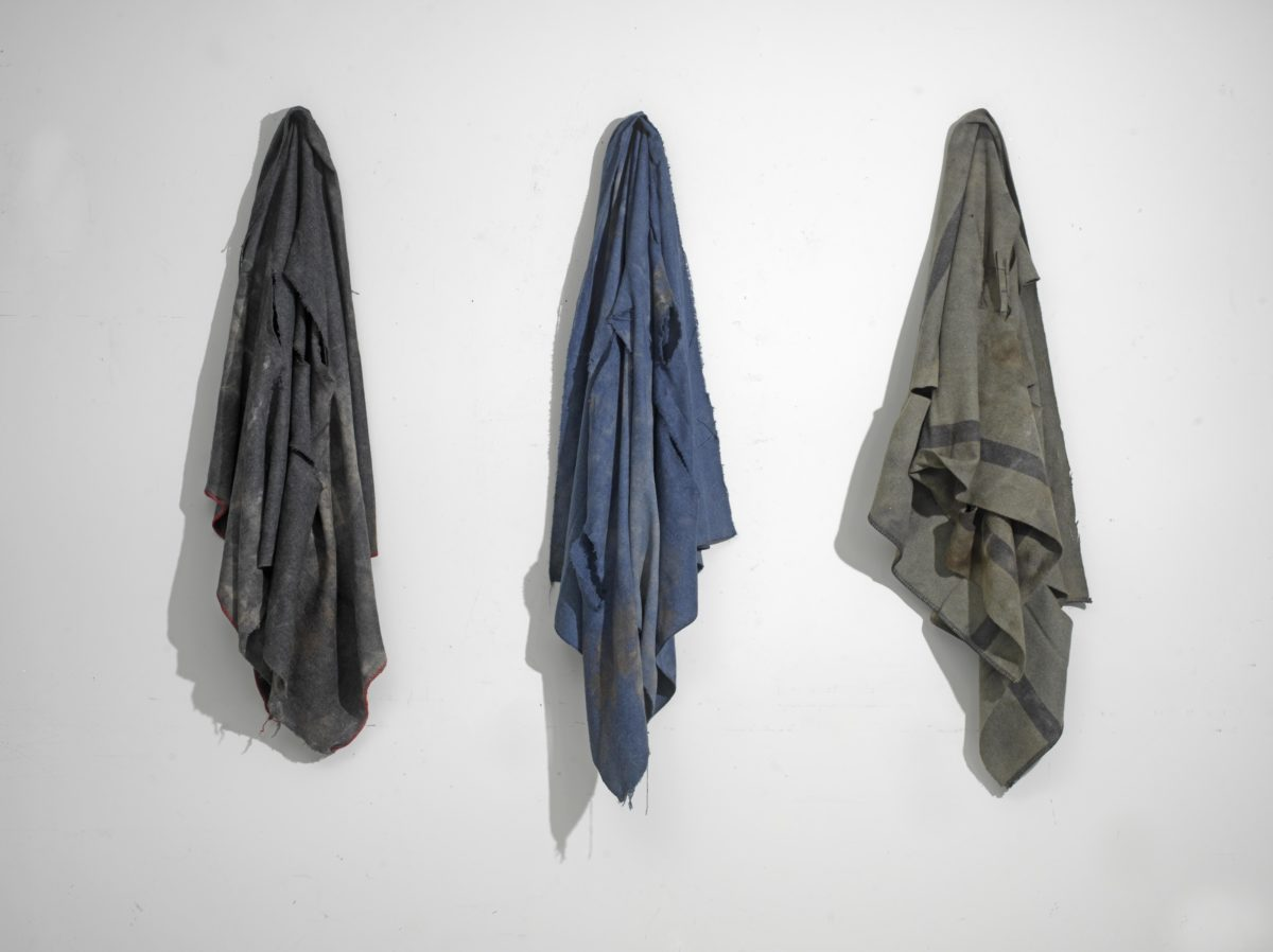 Installation.Wool blankets.Dimensions variable