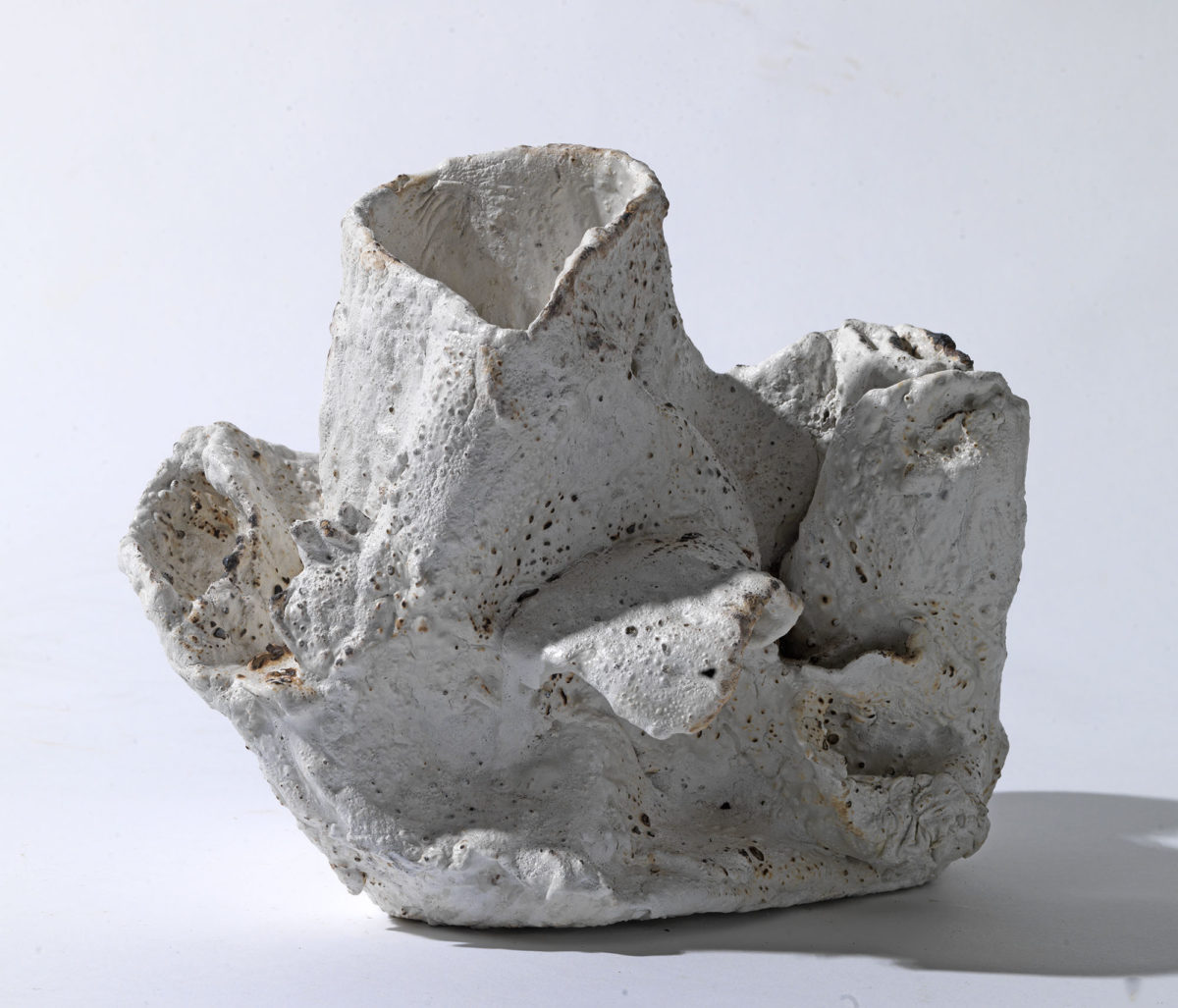 Mixed Media: burned  grey and white cement -resins and pigments.Dimensions 17X23